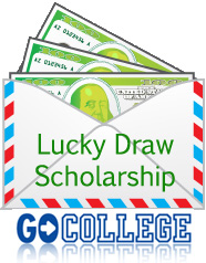 Lucky Draw Scholarship.