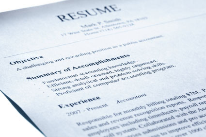 scholarships on resumes